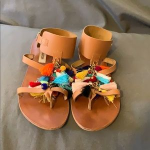 Steve Madden Colorful Sandal size 9